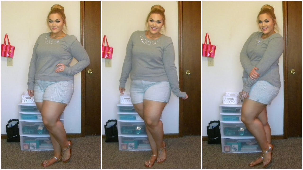 The Curvy Diaries Plus Size Shorts Ootd Youtube