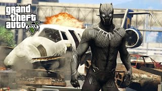 BLACK PANTHER!! (GTA 5 Mods)