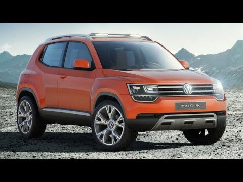 2014 Volkswagen Taigun Compact SUV Concept Review At Auto Expo 21014