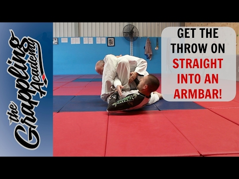 Starting from knees: TAKEDOWN/ARMBAR combo!