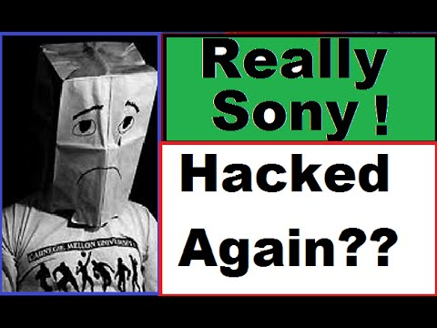 WTF!!! Sony Hacked Again!!!. Sony Pulls Dumb Ass PlayStation Ad