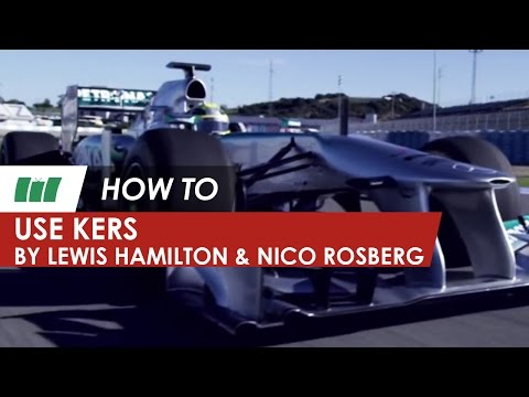 HOW TO...Use KERS by F1 drivers Lewis Hamilton and Nico Rosberg