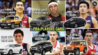Ganito Ka-Astig Ang Kotse Ng Mga PBA Player!
