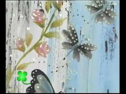Betina Ferrara - Pinceladas Básicas (Mariposas)