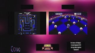 Sonic the Hedgehog Bania ~ Gold! Edition (Beta) Sample: Ms. Pacman vs. Blue Balls (Strange Set)