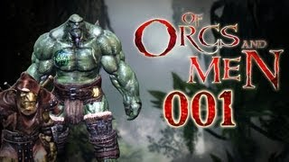 Let's Play Of Orcs And Men #001 - Die Blutkiefer rücken aus! [deutsch] [720p]