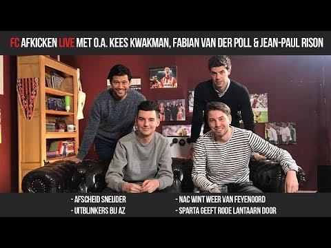 FC AFKICKEN LIVE - Met o.a. Kees Kwakman, Fabian van der Poll & Jean-Paul Rison