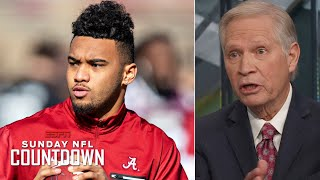 Tua Tagovailoa will 'no doubt' be an NFL first-round draft pick - Chris Mortensen | NFL Countdown