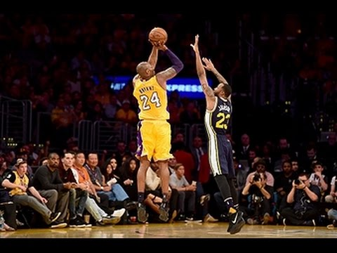 Kobe Bryant Drops 15 in First Quarter of Final Game