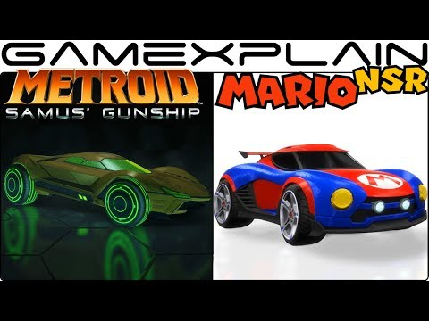 Mario & Metroid Themed Cars Coming to Rocket League on Nintendo Switch for FREE!