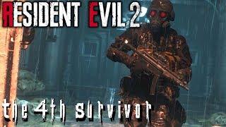 Resident Evil 2 REmake | The 4th Survivor | HUNK and Tofu BFFs!