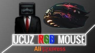 Aliexpress'ten Ucuz RGB Gaming Mouse