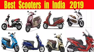Best Scooters in India 2019