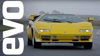 Lamborghini Countach LP 400 S driven   evo ICONS