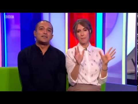 HD Kirsty Gallacher on the One Show 27/8/15