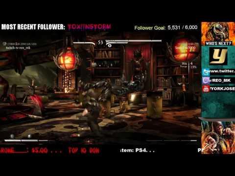 MKXL-  ESL S3 W8 R4 - REO (Cyber Sub-Zero) vs SonicFox (Erron Black / Cassie Cage) #1