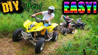 How To Make ATV Trails 101