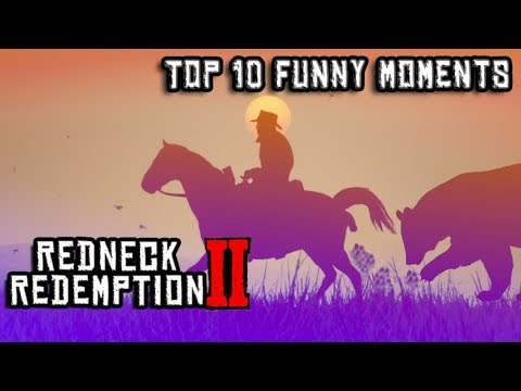 Top 10 Red Dead Redemption 2 Funny Moments Ever # 1