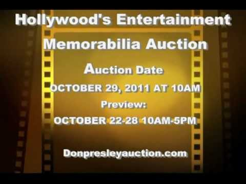 Don Presley Presents the HOLLYWOOD MEMORABILIA AUCTION (Preview)