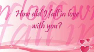 Watch Backstreet Boys How Did I Fall In Love With You video