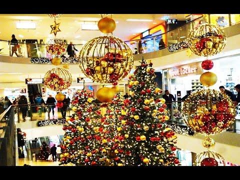 Rheinpark Center an Weihnachten in Neuss / Deutschland