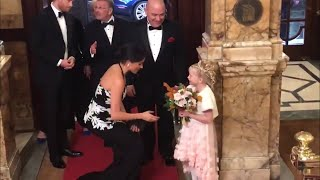 Duke & Duchess Of Sussex Arrive At Royal Variety Performance 2018!