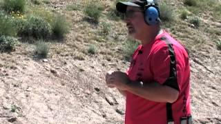 Rob Leatham - Training with Action Target Static Steel Target