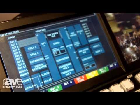 InfoComm 2015: Roland Displays V-1200HD Multi-Format Video Switcher