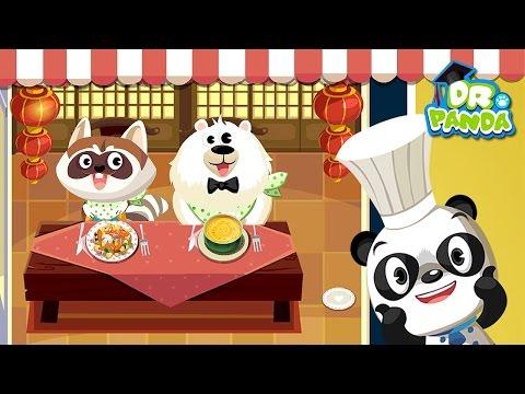 Ресторан Доктора Панды - Развивающее видео для малышей. Dr. Panda's Restaurant