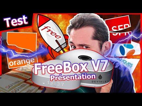 #Freebox V7 #Delta et #One : Les meilleures Box Internet au prix fort