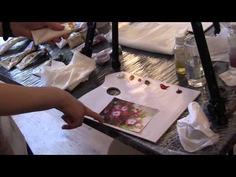 Рисуем маслом для начинающих сахаров