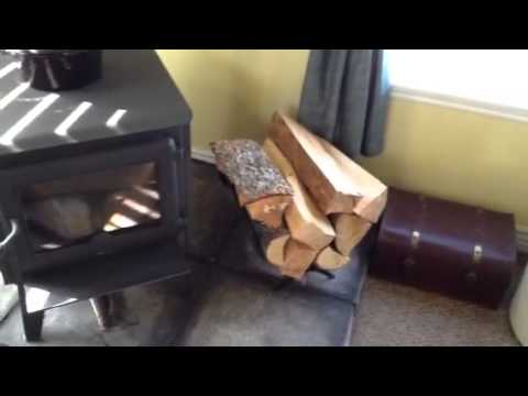 My wood burning stove is awesome