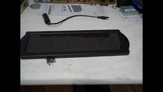 Harbor Freight 1.5 Watt Solar Battery Charger - How to Cut Out The LED