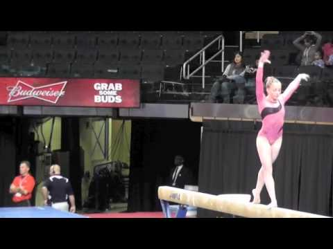 Sydney McGlone-Level 10 UGI Gymnast, 2012 Nastia Cup- Beam Routine