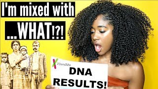 My DNA Results!! What's My Background?| 23andMe