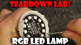Teardown Lab - 240v RGB Lamp