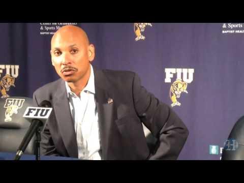 FIU basketball teams meet with media