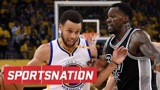 Dedmon's Screen On Curry Was 'Dirty And Unintentional' | SportsNation | ESPN