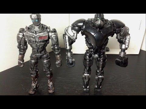 Real Steel 2-Pack Atom Vs. Zeus Figure Review