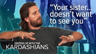 Scott Disick Gets Real to Kim About Tristan & Khloe Drama | KUWTK | E!