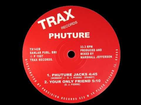 PHUTURE - ACID TRACKS (1987) VINYL