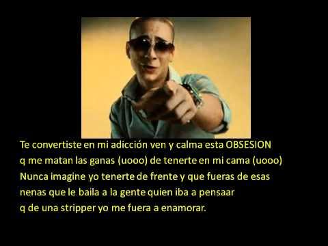 obsecion-maluma.con letra lyrics