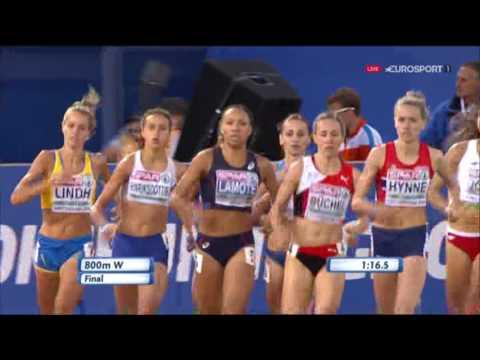 800m Women's Final - European Athletics Championships 2016