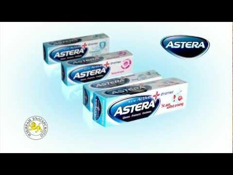 Новите пасти за зъби ASTERA ACTIV+