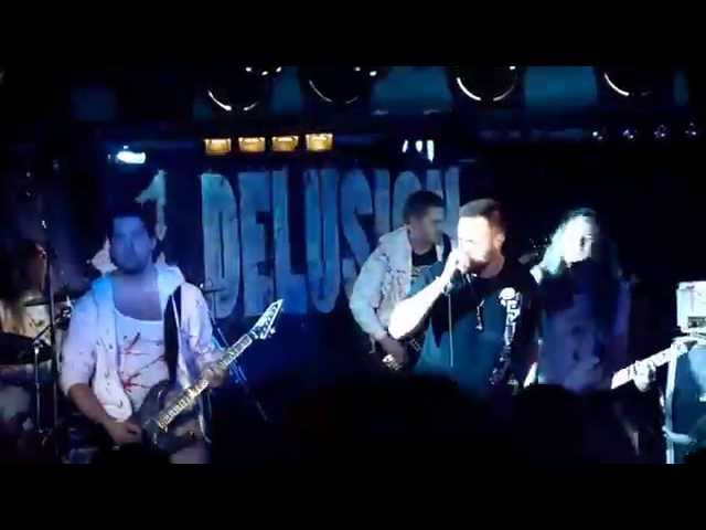 God Delusion  ---LIVE---  Rancor   (Death / Groove / Core)