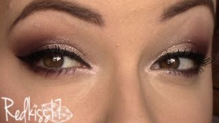 Tutorial look con I heart makeup- Redkiss17
