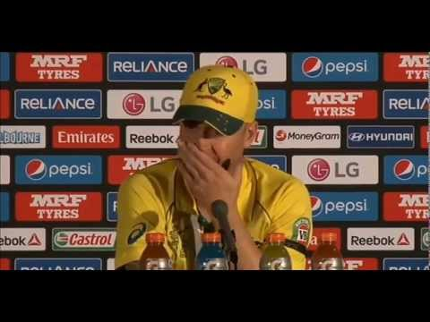 Michael Clarke Emotional Press conference after Win in Final | Australia won by 7 Wickets