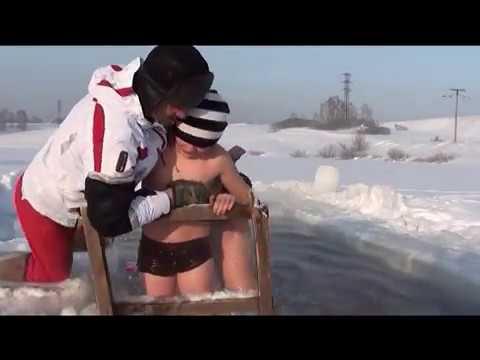 эротика в снегу в проруби-шщ1