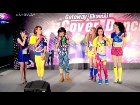 130616 [Talk] นางจำแลง cover 4Minute @Gateway Ekamai Cover Dance Contest 2013 (Audition)