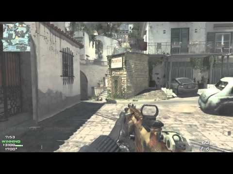 Modern Warfare 3: Map Pack 1 - Gameplay on Piazza (Commentary)
